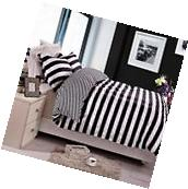 3 Piece Black And White S Bedding Cover Set Pillow Shams