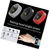 Sports Blood Pressure/Oxygen Heart Rate Fitness Smart Watch Wrist Band Bracelet
