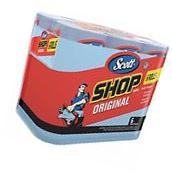 Scott Blue 24 Rolls Original Paper Shop Towels 55 Sheets per