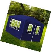 Outdoor 10'x30' Blue Canopy Party Tent Gazebo Pavilion Cater
