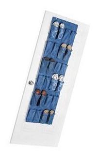Whitmor 24 Pocket Over the Door Shoe Bag