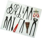 IMAGE® 14-pc Bonsai Tool Set Carbon Steel: With Case