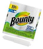 Bounty Select-a-Size Paper Towels, White, 2 Huge Rolls,
