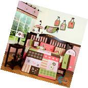 Baby Boutique Floral Dream Girl 13PCS Nursery CRIB BEDDING