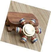 Brass Hand Finger Spinner Fidget Toy Desk Focus EDC Toy For