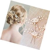 Fashion Bridal Hair Accessories Pearl Flower Hair Pin Stick