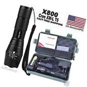 100% Genuine Lumitact G700 8000lm LED Tactical Flashlight