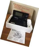 Brookstone Dual Time Alarm Clock AM/FM Radio NIB