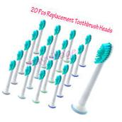 20pcs Tooth Brush Heads for Philips Sonicare ProResults