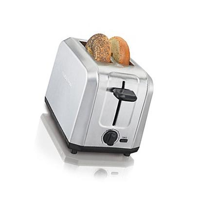 New Oster Brushed Stainless Steel 2-Slice Toaster #