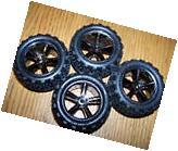 4 Traxxas 1/16 7107 Brushless VXL E-REVO Talon Tires & 12mm