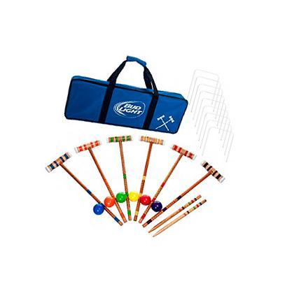 Bud Light 24 piece 6 player Croquet Set - Complete Set
