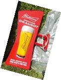Budweiser Bud SIGNATURE DRAUGHT FATHEAD PUB SIGN NEW IN BOX