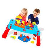 Building Blocks Toys Learning Table Baby Kids Child Learn