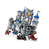Building Toys Palace Medieval Castle Knight Carriage Model
