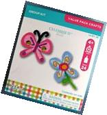 Butterfly & Flowers  KIDS 4+ Easter Spring Foam Craft Kit