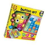 Kids Button Art Toddler Developmental Arts Crafts Activity