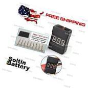 BX100 1-8S Lipo Battery Voltage Tester / Low Voltage Buzzer