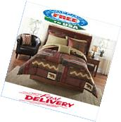 Mainstays Cabin Bed In A Bag Coordinated Bedding Set 8Pc