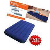 Camping Mattress Air Sleeping Inflatable Airbed Intex Twin