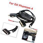 17.5V Car Charger Adapter For DJI Phantom 4 Quadcopter