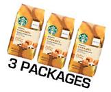 Starbucks Caramel Flavored Coffee Smooth & Buttery 11oz Bag