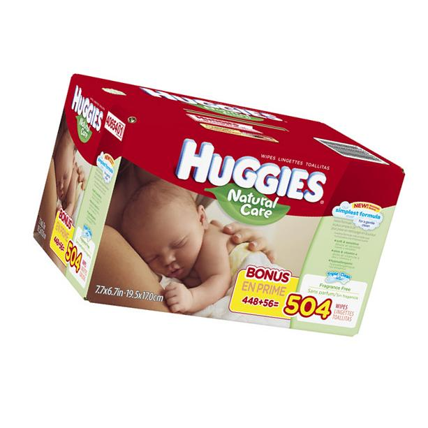 Huggies Natural Care Baby Wipes, Refill Pack, Fragrance Free