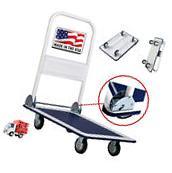 Cart Dolly Folding Foldable luggage Push Hand Truck Moving