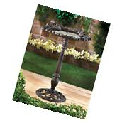 CAST IRON FOREST FROLIC BIRD BATH
