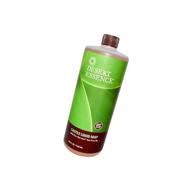 Desert Essence Castile Liquid Soap W/ Harvest Oil
