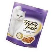 Fancy Cat Food Dry With Savory Chicken &Turkey 16 OZ