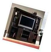 Large Entertainment Center TV Stand Media Console Furniture