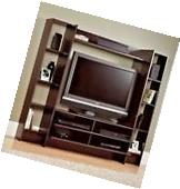 Entertainment Center Wall Unit Storage Cabinet TV Stand