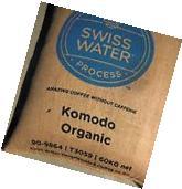 5 lbs. Komodo Blend Cerified ORGANIC DECAF Green Coffee