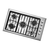 """Fisher Paykel CG365CWACX1 36"""" Brushed Stainless 5 Sealed"""