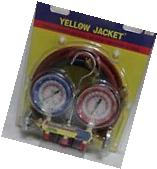 Yellow Jacket Charging Manifold and Hoses. #42004. New In