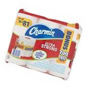Charmin Ultra Strong Mega Roll Toilet Paper, 352 sheets, 18