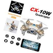 Cheerson CX-10W Mini Wifi FPV 0.3MP Camera 2.4G 4CH 6 Axis