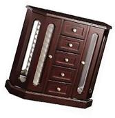 Jewelry Armoire Chest Box Storage Cabinet Stand Wood