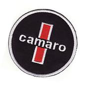 """Chevrolet Camaro 3"""" Round Embroidered Iron On Car Patch *New"""