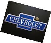 """Chevrolet Large 12"""" x 4 1/2"""" Embroidered Iron On Car Jersey"""
