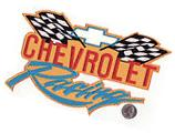 """Chevrolet Racing Large 10"""" x 5 3/4"""" Embroidered Iron On Car"""