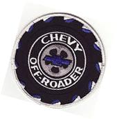 """Chevy Off-Roader 4"""" Embroidered Car Patch *New"""