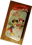 Disney Christmas Gift Card Holder Tin Mickey and Minnie