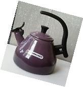 Le Creuset Chrysenth Tea Kettle 1.6QT Cassis