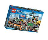 "Lego City ""City Square"" 60097 Building Set, 1683 Pieces. New"