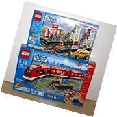 NEW SEALED LEGO 7937 7938 CITY PASSENGER TRAIN STATION POWER