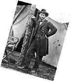 New 8x10 Civil War Photo: Union Federal General Ulysses S.
