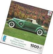 "Ceaco ~ CLASSIC CARS ~ 1000 Piece Puzzle, 27"" x 20"" - NEW"
