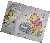Disney Classic Pooh Winnie the Pooh Fitted Crib Sheet NWT